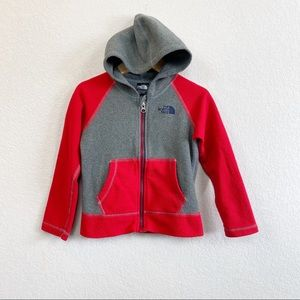 The North Face Fleece Full Zip Colorblock Hoodie